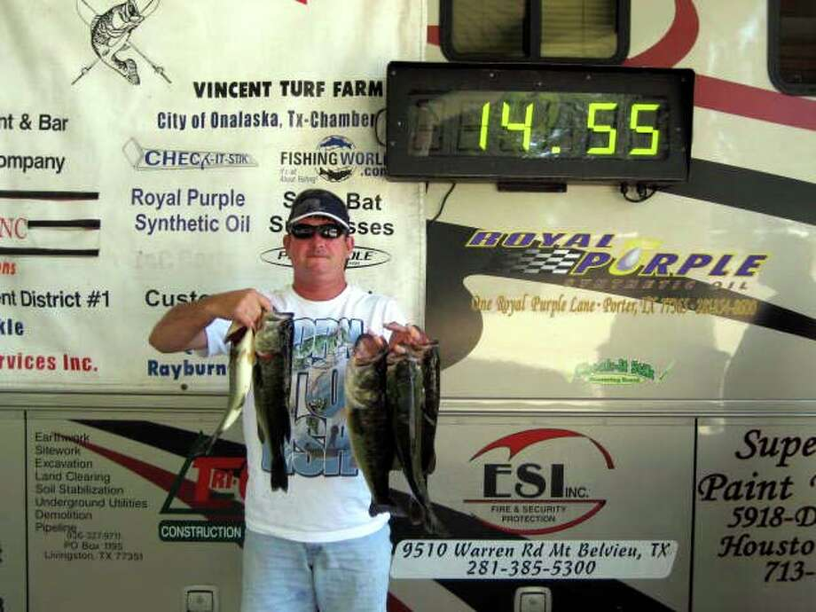 Mike Needham & Todd Gualandri managed to cull several times to end up 2nd place with 14.55 lbs.
