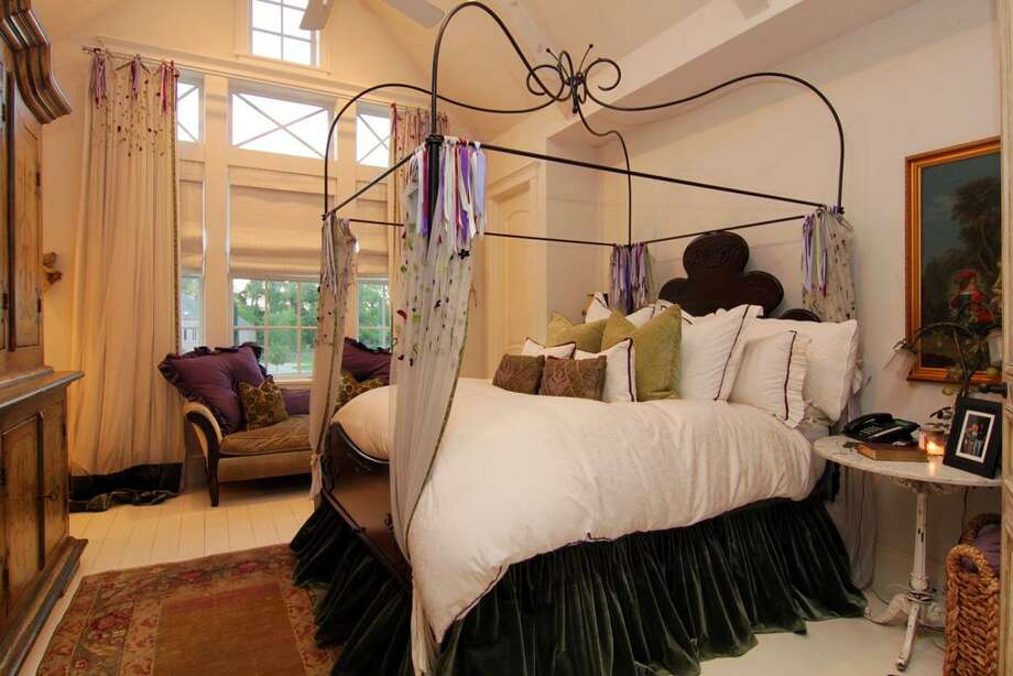 All the bedrooms have lovely views of the grounds.
