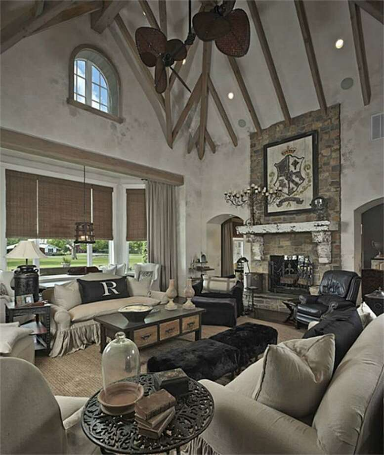 Another view that shows the impressive ceiling.See the listing here or find your next home here. Photo: HAR.com