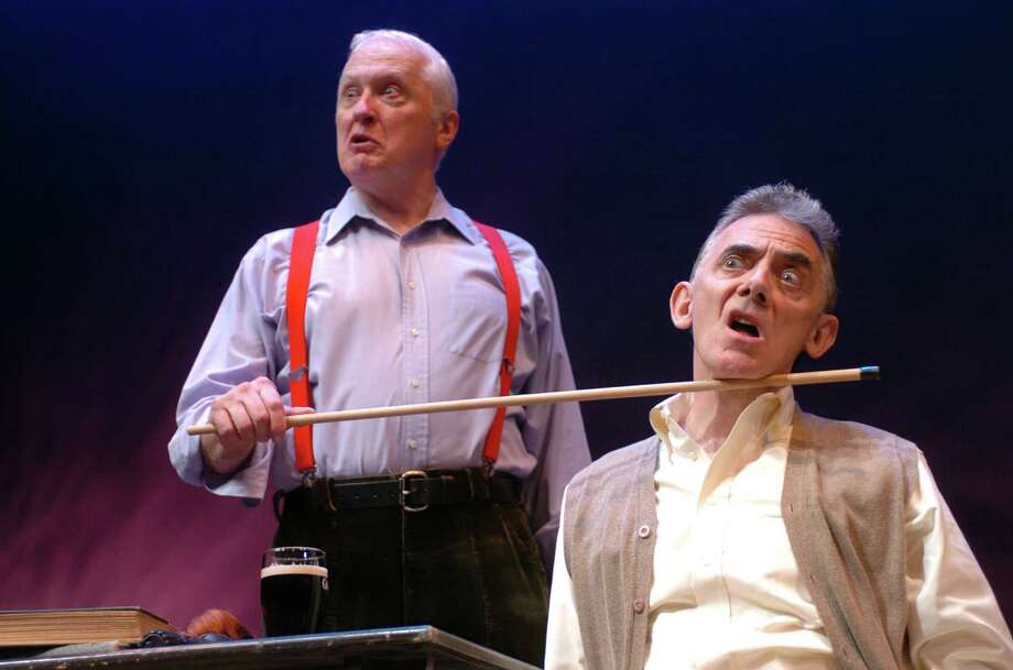 "Howard Platt and Jarlath Conroy are starring in ""A Couple of Blaguards,"" the play by Frank and Malachy McCourt running May 21 to June 2 at Long Wharf Theatre in New Haven. Photo: Contributed Photo"