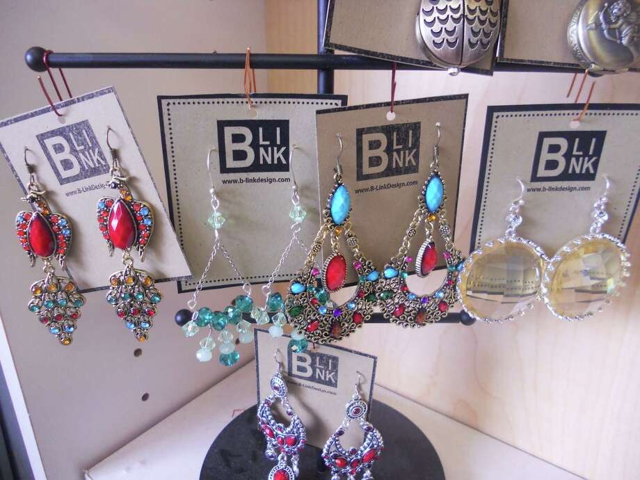 721 S. St. Mary's St: Some of the earrings at B. Link are designed by store owner Brandy. Photo: Courtesy Photo