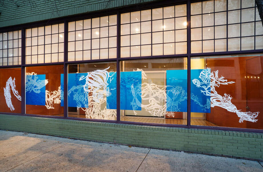 """Cultivated Diversions"" is a WindowWorks piece by San Antonio artist Leigh Anne Lester. Photo: Courtesy Artpace"