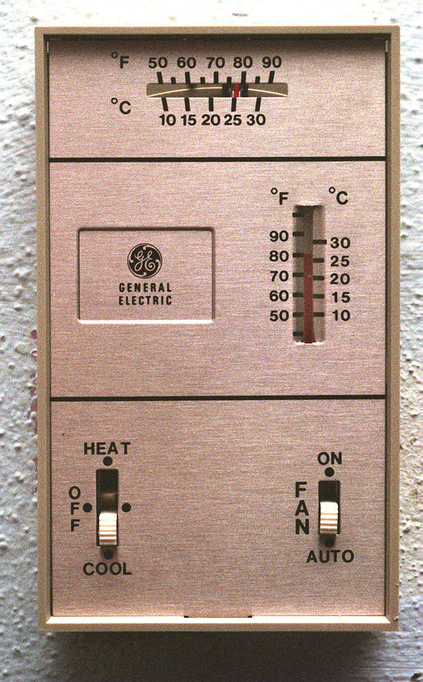 Adjust the thermostat. Raising the temperature just one degree saves 7 percent to 10 percent on cooling costs.