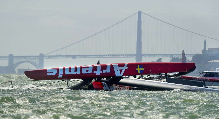 America's Cup German youth team is out