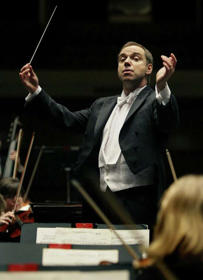Sebastian Lang-Lessing is music director of the symphony. Photo: Express-News File Photo