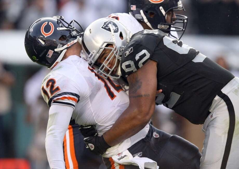 Richard Seymour  Defensive tackle  Previous team: Oakland Raiders  Status: Unrestricted Photo: Ezra Shaw, Getty Images