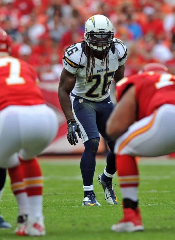 Atari Bigby  Safety  Previous team: San Diego Chargers  Status: Unrestricted Photo: Peter G. Aiken, Getty Images