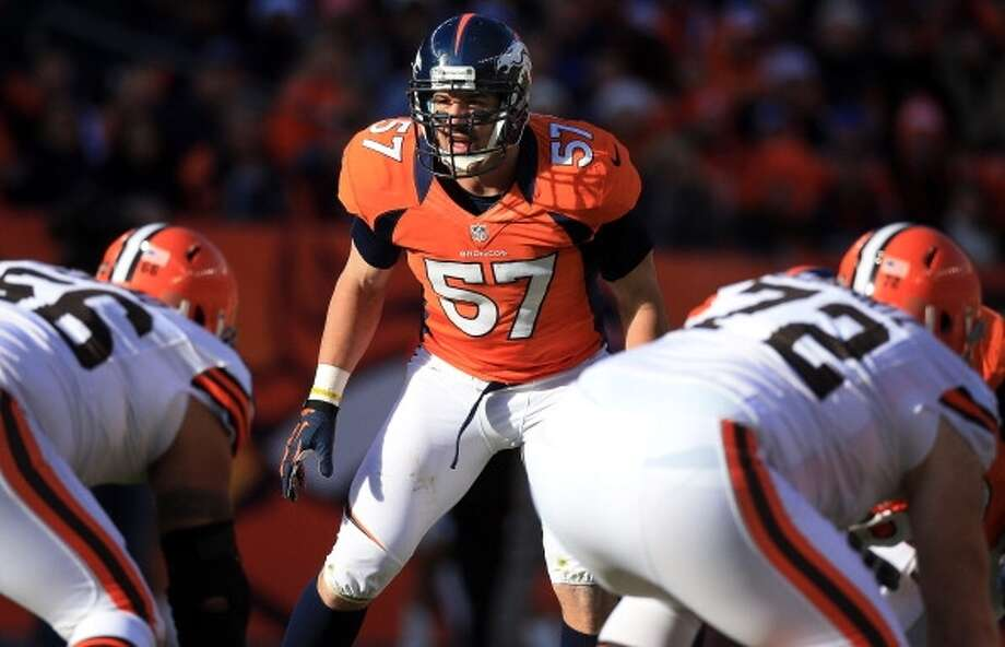 Keith Brooking  Linebacker  Previous team: Denver Broncos  Status: Unrestricted Photo: Doug Pensinger, Getty Images