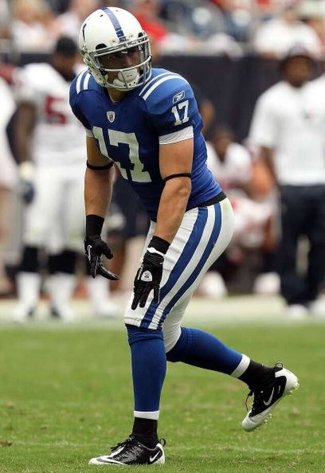Austin Collie  Wide receiver  Previous team: Indianapolis Colts  Status: Unrestricted Photo: Ronald Martinez, Getty Images