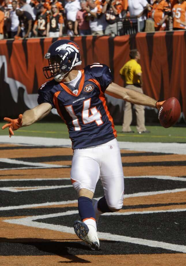 Brandon Stokley  Wide receiver  Previous team: Denver Broncos  Status: Unrestricted Photo: Al Behrman, Associated Press