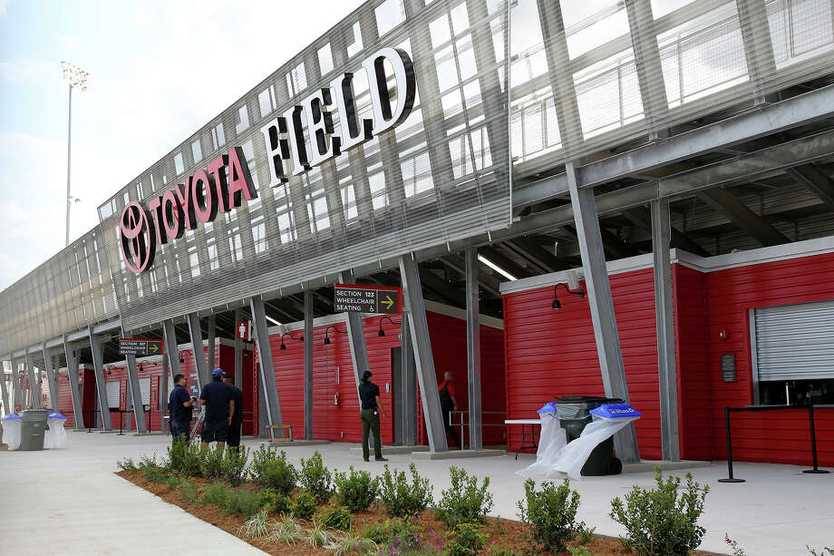 The San Antonio Scorpions open in their new stadium, Toyota Field against Tampa Bay on April 13, 2013. Photo: For The San Antonio Express-News