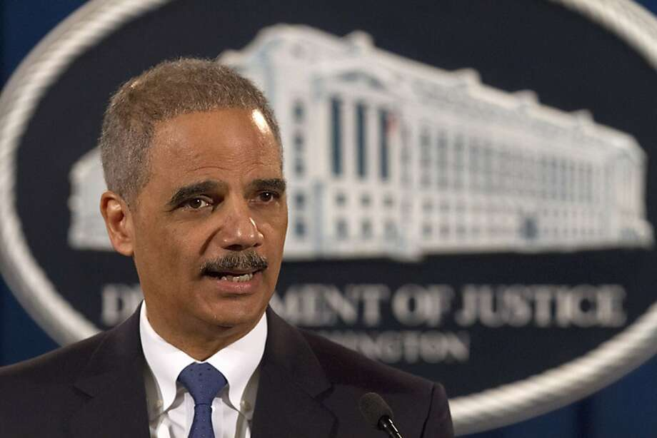 The Associated Press is demanding an explanation from Attorney General Eric Holder.   (AP Photo/Jacquelyn Martin) Photo: Jacquelyn Martin, Associated Press