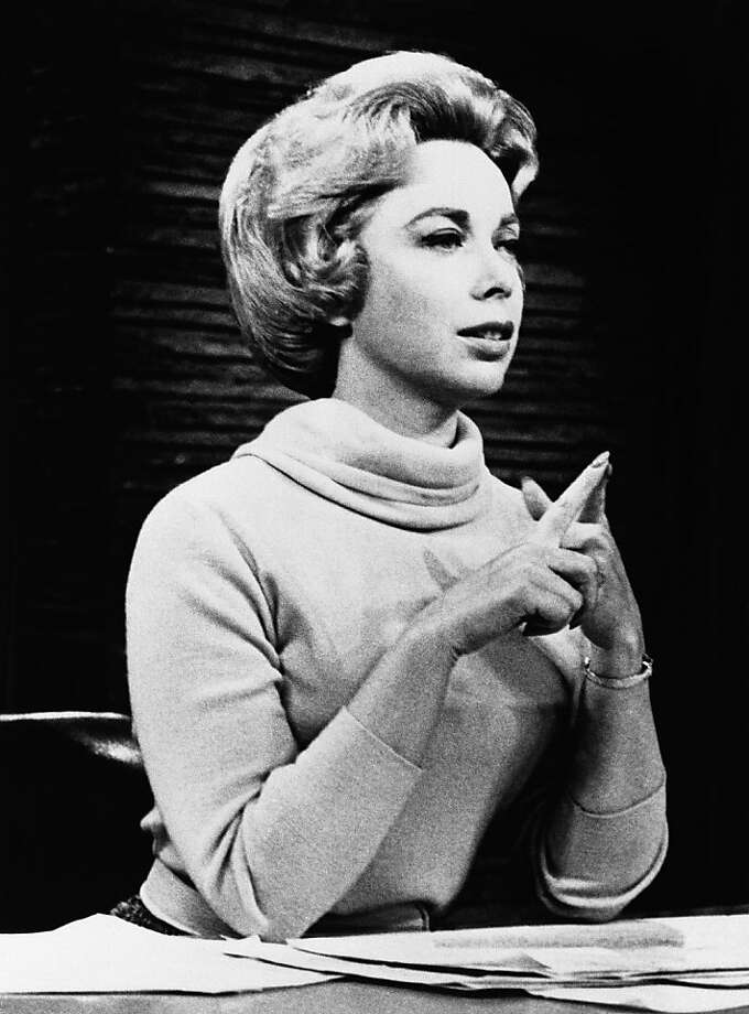 Joyce Brothers dispensed advice on her phone-in radio show. Photo: Anonymous, Associated Press