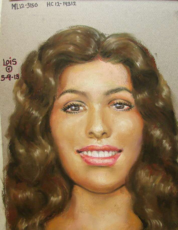 Homicide investigators have released a composite sketch of a woman whose remains were found in a garbage bag last year. (HCSO)