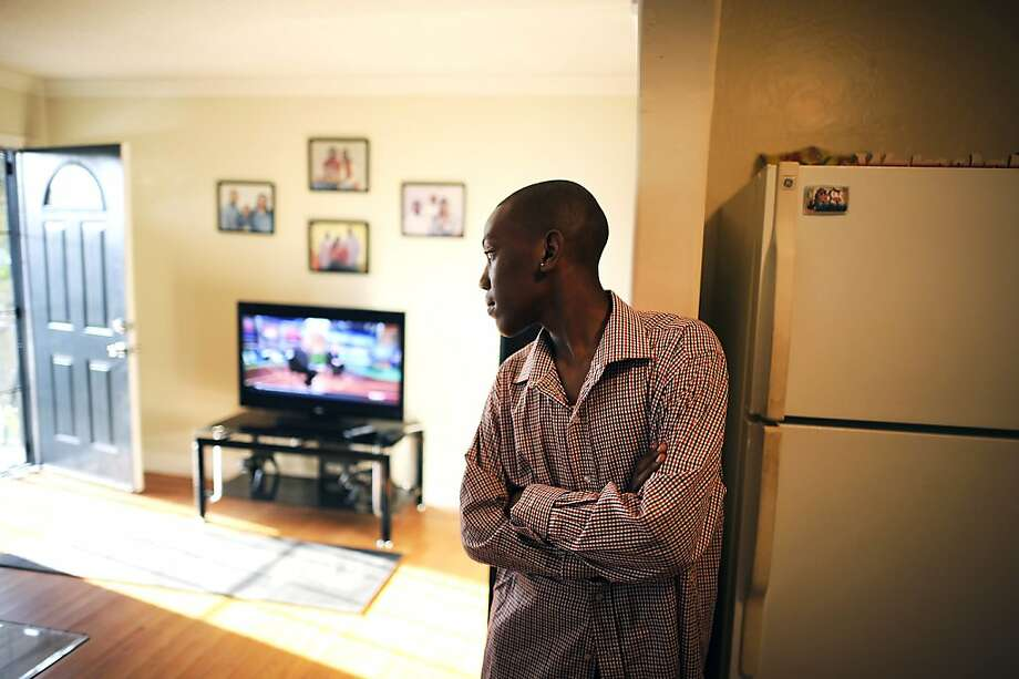 Dre'onn Davis hangs out in the house his parents recently bought with the help of the Self-Help Community Development Corp. program, which helps low- to moderate-income families get into home ownership. Photo: Michael Short, Special To The Chronicle
