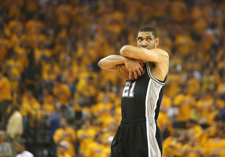 SECOND TEAM  PF Tim Duncan, San Antonio Spurs