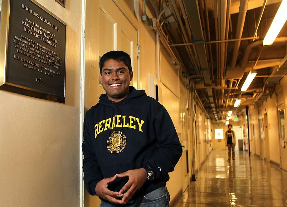 Ritankar Das, 18, is the founder of See Your Future, a nonprofit that develops science curricula for schools. Photo: Lance Iversen, The Chronicle