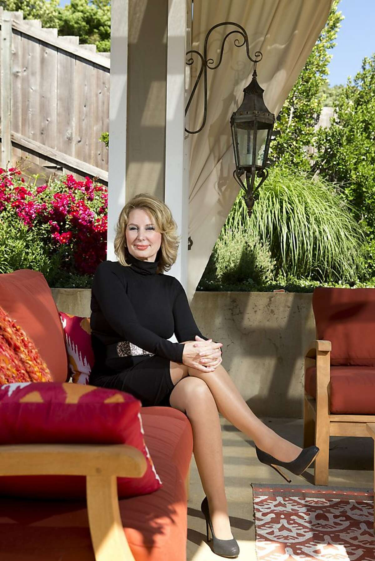 San Francisco radio talk show host Melanie Morgan, and a founder of Tea Part group Move America Forward, believes she was targeted by the IRS. Photographed in her home on Monday, May 13, 2013 in Novato, Calif.