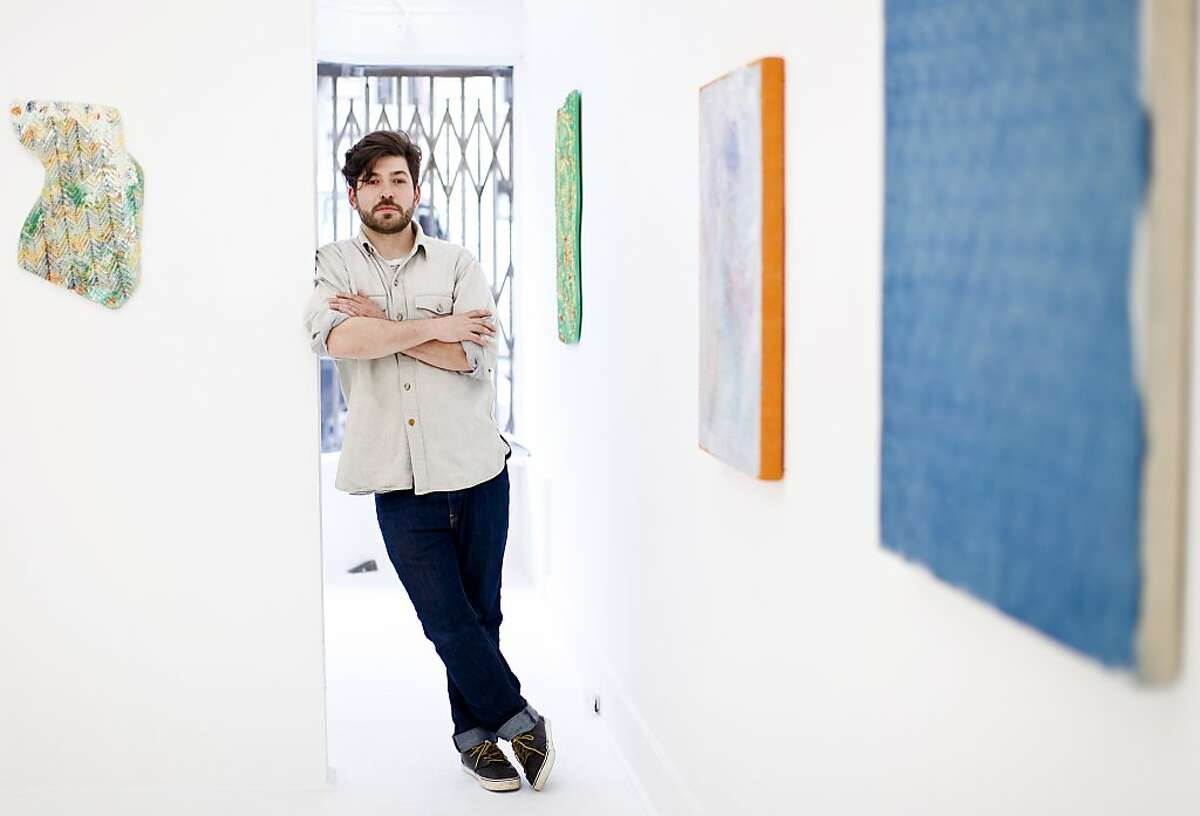 Andrew McClintock founder of San Francisco Arts Quarterly is seen in his art gallery, Ever Gold, on Friday, April 5, 2013 in San Francisco, Calif.