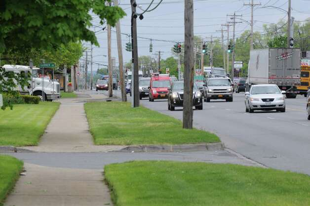 Central Avenue near the intersection of  New Karner Road, Monday May, 13, 2013,  in Colonie, N.Y. (Will Waldron/Times Union) Photo: Will Waldron
