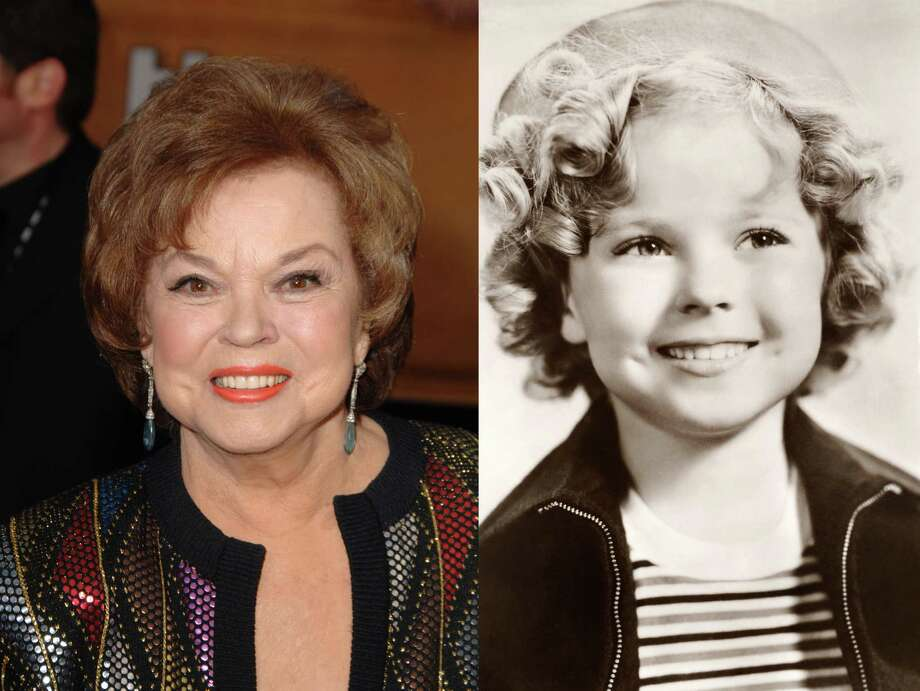 Shirley Temple Black: The child actress turned U.S. ambassador was one of the first prominent women to speak openly about breast cancer after she was diagnosed and had a mastectomy in late 1972. Photo: LEFT: SGranitz / WireImage For Turner; RIGHT: Popperfoto / Getty Images / WireImage