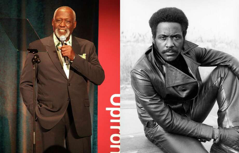 Richard Roundtree: The actor best known for 'Shaft' had a double mastectomy after he was diagnosed with male breast cancer in 1993. Photo: LEFT: Maury Phillips / Getty Images For BET; RIGHT: Michael Ochs Archives / Getty Images / 2013 Getty Images