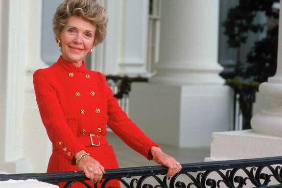 Nancy Reagan:  The First Lady was diagnosed with breast cancer after mammogram in October 1987 and chose to have a mastectomy.