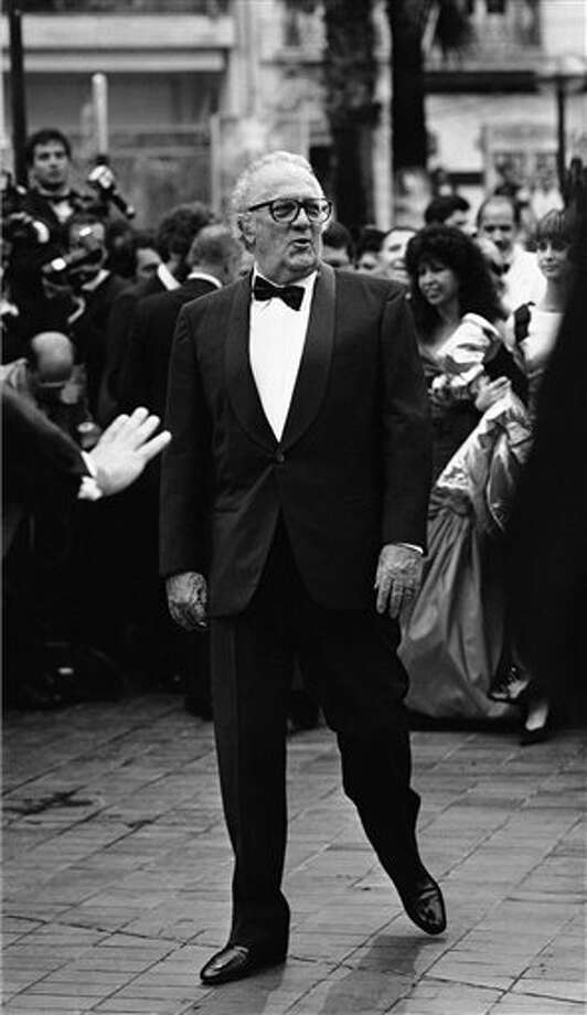 Italian film director Federico Fellini at the 27th International Film Festival in Cannes, France, on May 18, 1974. Photo: Jean Jacques Levy, ASSOCIATED PRESS / AP1974