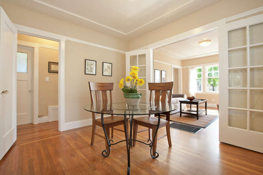 The home has hardwood floors throughout. Photo: © Kiera Condrey