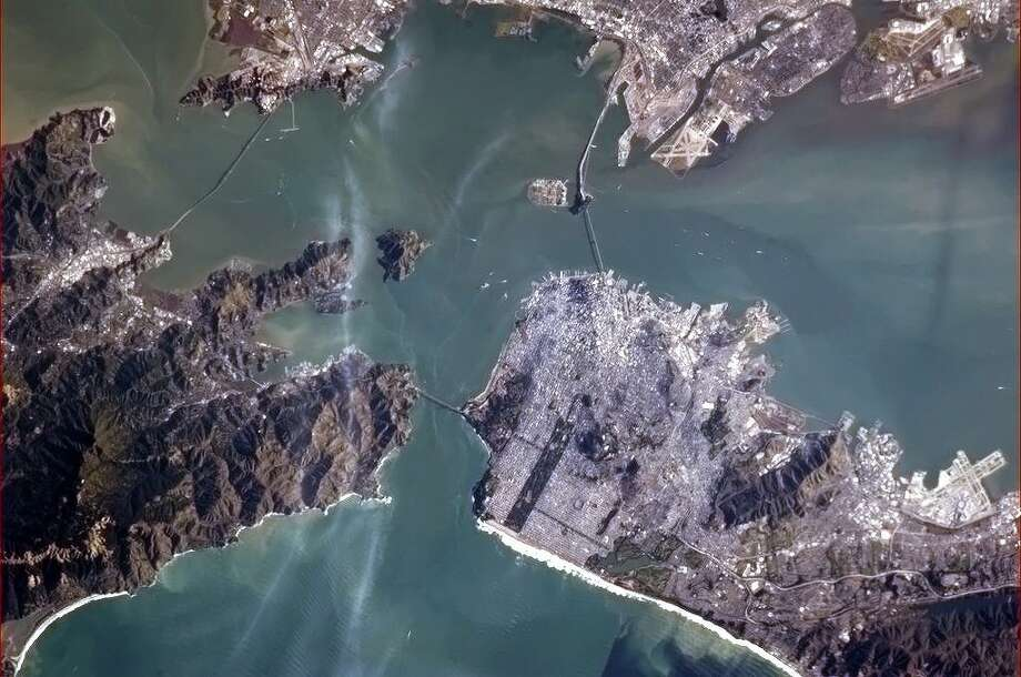 San Francisco from Space. Photo: Col. Chris Hadfield/CSA/NASA