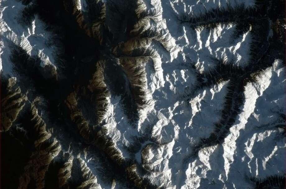 Sochi, Russia. Photo: Col. Chris Hadfield/CSA/NASA