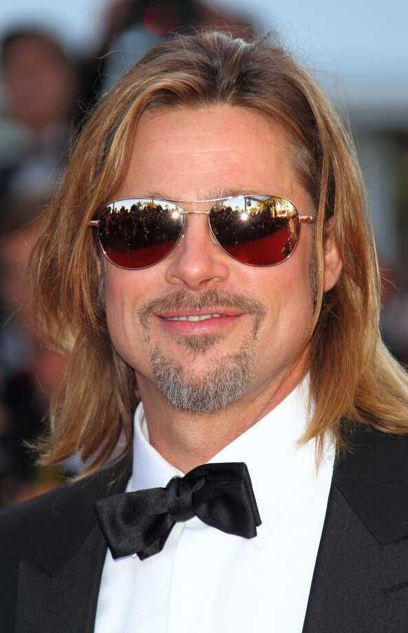 Brad Pitt attends the 'Killing Them Softly'' Cannes Classics Premiere during the 65th Annual Cannes Film Festival at Palais des Festivals on May 22, 2012 in Cannes, France. Photo: Mike Marsland, WireImage