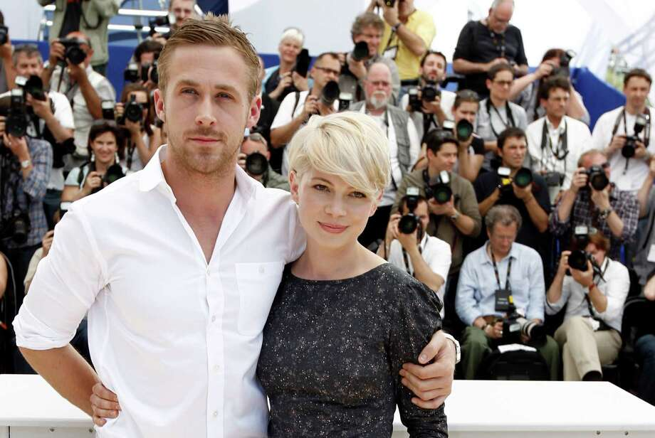 "Actors Ryan Gosling, left, and Michelle Williams pose during a photo call for the film ""Blue Valentine"", at the 63rd international film festival, in Cannes, southern France, Tuesday, May 18, 2010. Photo: Matt Sayles, ASSOCIATED PRESS / AP2010"