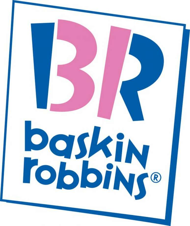Baskin Robbins — This logo, introduced in 2005, cleverly uses the company's initials to advertise its number of ice cream flavors (31). Photo: Business Insider