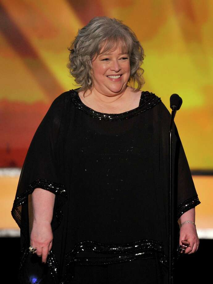 Kathy Bates: The actress announced on Twitter she had had a double mastectomy after she was diagnosed with breast cancer in 2012. Photo: Kevin Winter / Getty Images / 2012 Getty Images