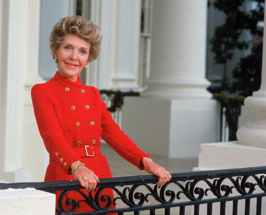 Nancy Reagan: The First Lady was diagnosed with breast cancer after mammogram in October 1987 and chose to have a mastectomy. Photo: Dirck Halstead / Time & Life Pictures / Getty Images / Dirck Halstead