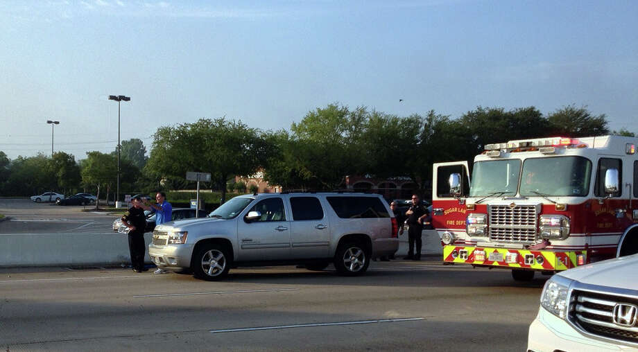 Two separate wrecks snarled traffic on northbound U.S. 59 near Williams Trace in Sugar Land Tuesday morning.