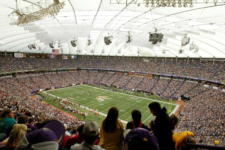 Mall of America Field – Minnesota Vikings – $2.1 million per year. Photo: Genevieve Ross, Associated Press