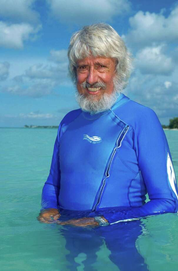 Ocean explorer Jean-Michel Cousteau will talk about his experiences and the state of the oceans in a special appearance at The Maritime Aquarium at Norwalk on May 20. Tickets for the 8 p.m. event are $35 ($30 for Aquarium members). Photo: © Tom Ordway