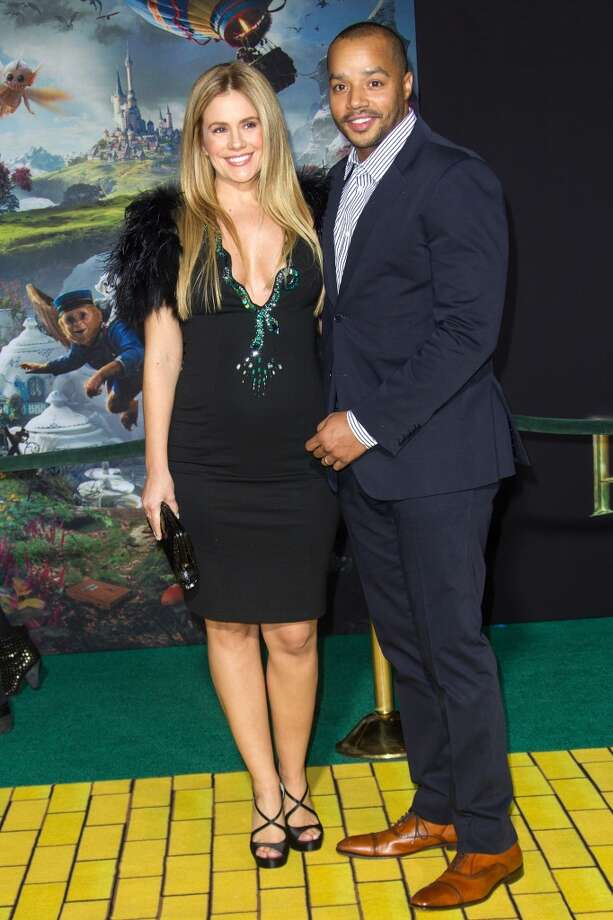 Cacee Cobb and Donald Faison are expecting a baby.