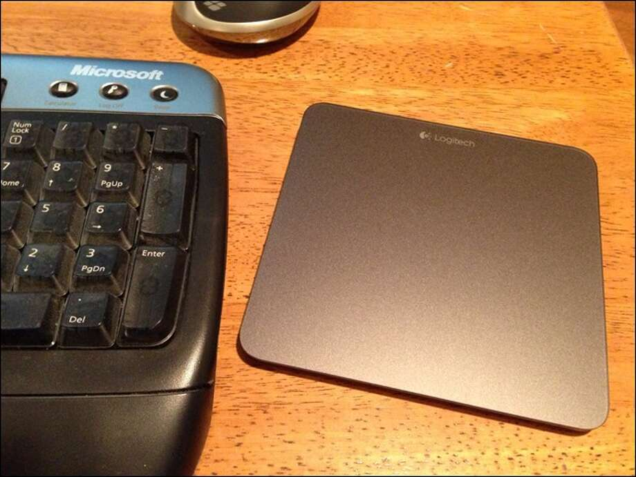 The Logitech Wireless Touchpad T650 lets you use Windows 8's touch gestures even if you don't have a touchscreen PC.