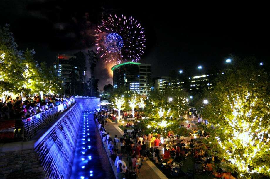 At dusk, the Red, Hot & Blue Fireworks Extravaganza, presented by BBVA Compass, will light up the night sky.