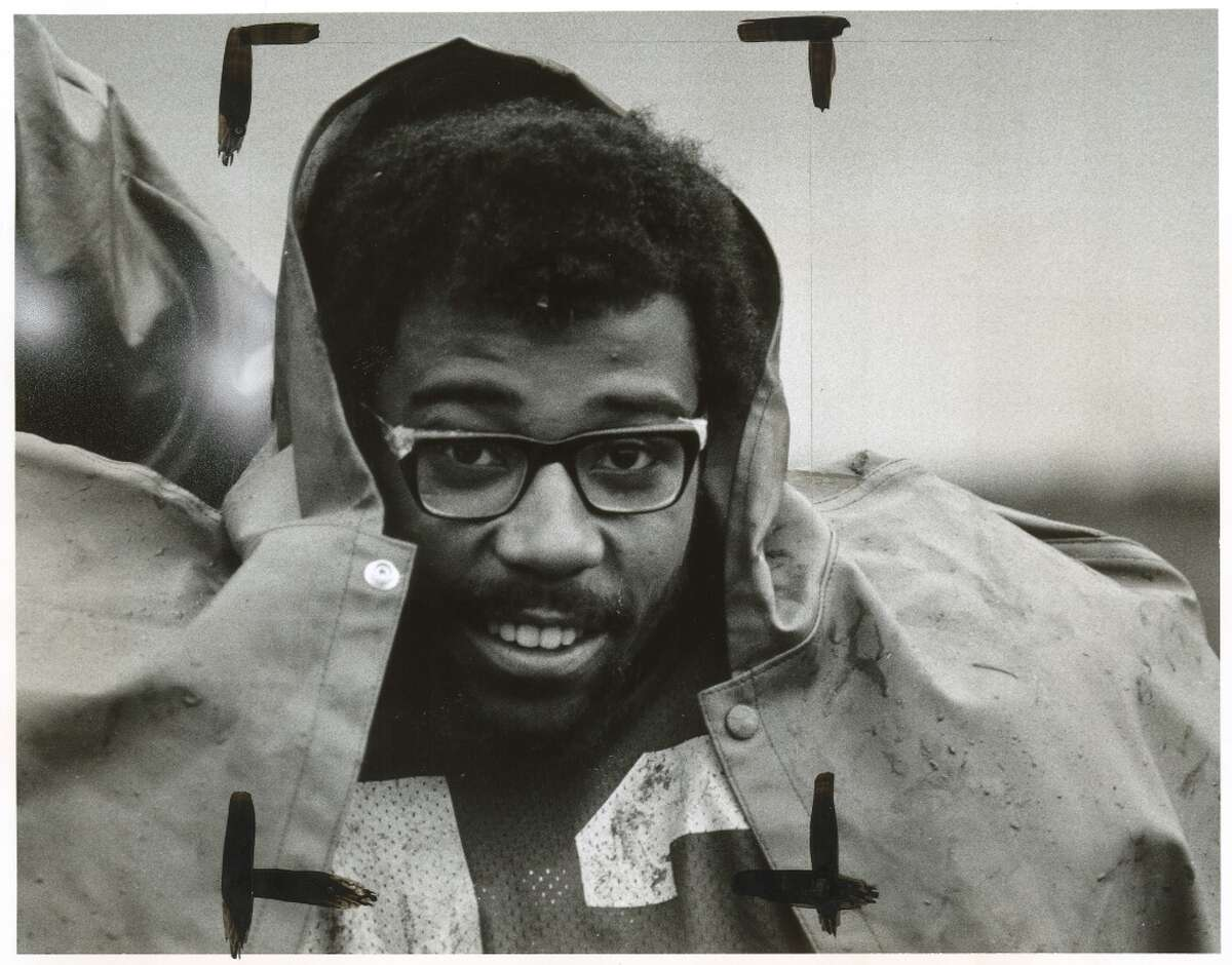 A photo of Chuck Muncie taken in 1975.