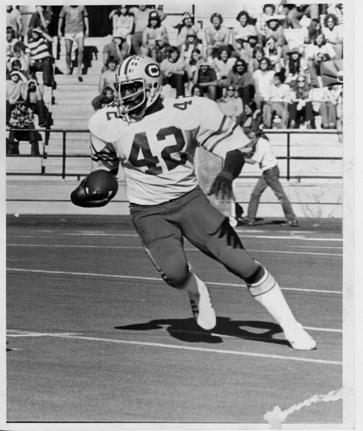 Chuck Muncie ran for four TDs in the 1975 Big Game.