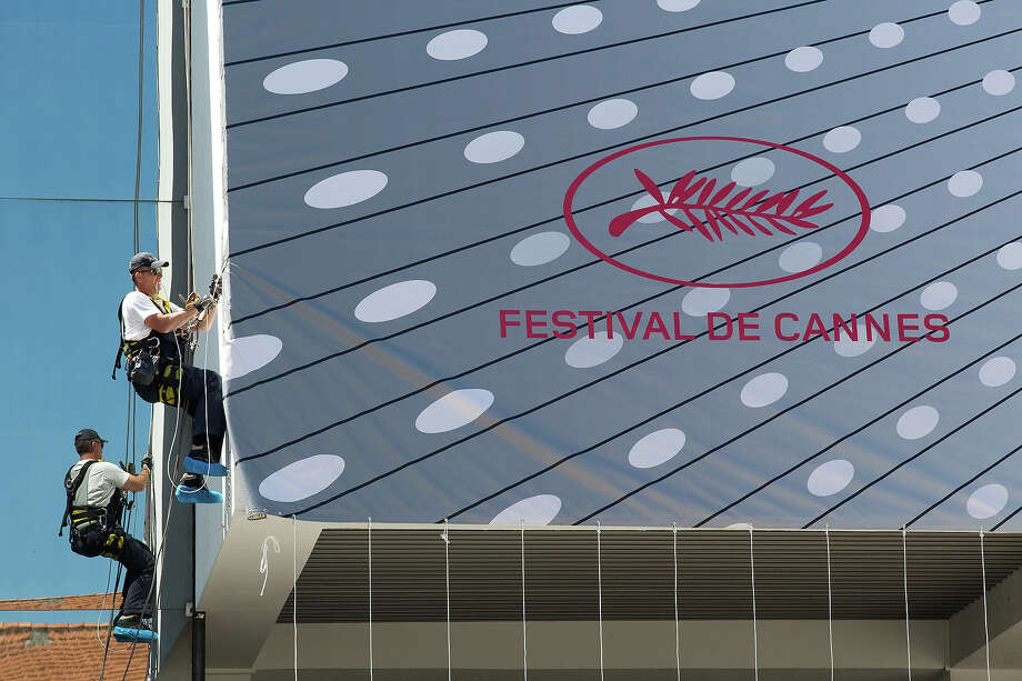 Preparations for The 66th Cannes Film Festival begin on May 13, 2013 in Cannes, France. The image of the actors was taken during filming for Melville Shavelson's 1963 film of 'A New Kind Of Love'. Photo: Marc Piasecki, Getty Images / 2013 Marc Piasecki