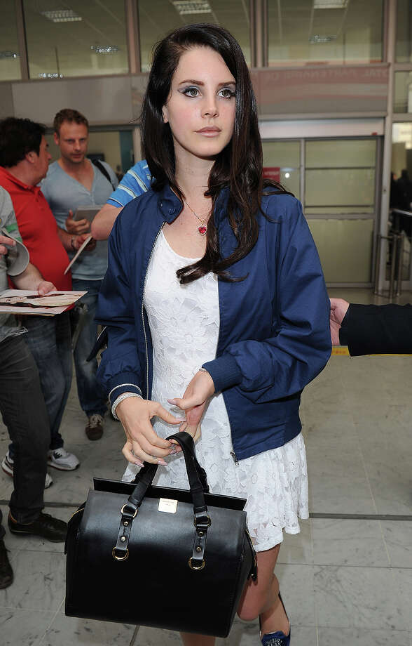 Lana Del Rey is seen arriving at Nice airport on May 14, 2013 in Nice, France. Photo: Jacopo Raule, FilmMagic / 2013 Jacopo Raule
