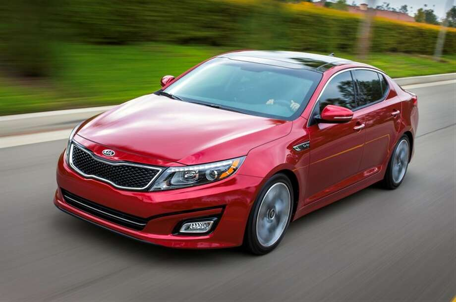 3. Kia OptimaWhat Edmunds.com says: The 2013 Kia Optima is one of our top picks for a midsize sedan. With evocative styling, strong engine choices and a long list of features, it's easy to see why.See all the rankings here Photo: Courtesy Of Kia