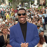 Actor-comedian Eddie Murphy arrives at the Cannes Film Festival in Cannes, France, Monday, May 14, 1991.