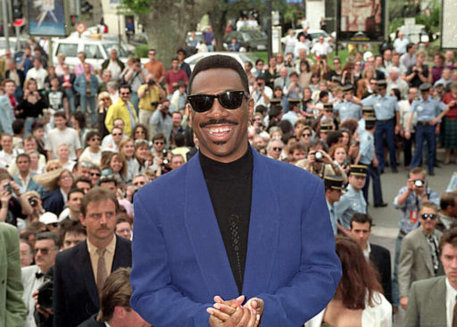 Actor-comedian Eddie Murphy arrives at the Cannes Film Festival in Cannes, France, Monday, May 14, 1991. Photo: Jose Goitia, ASSOCIATED PRESS / AP1991