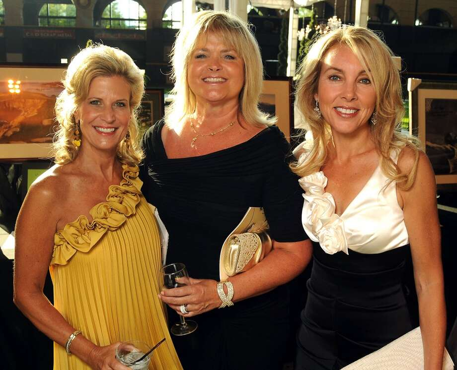 2011 From left: Anna Quirk, Rhonda Mills and Gari Meacham at the Astros Wives Gala at Minute Maid Park